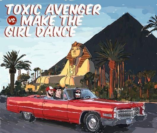 Rencontre croisée avec Make the Girl Dance et Toxic Avenger