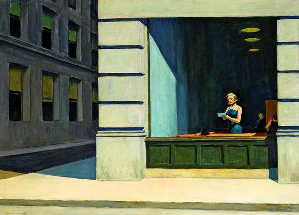 Hopper, la couleur de l'ennui