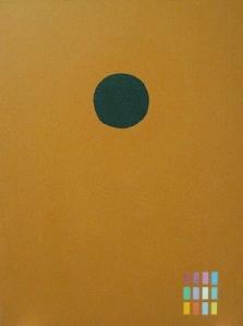 Adolph Gottlieb Green disc, 1972