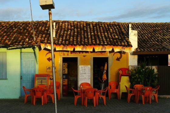 Brésil, Bahia, village au trampoline