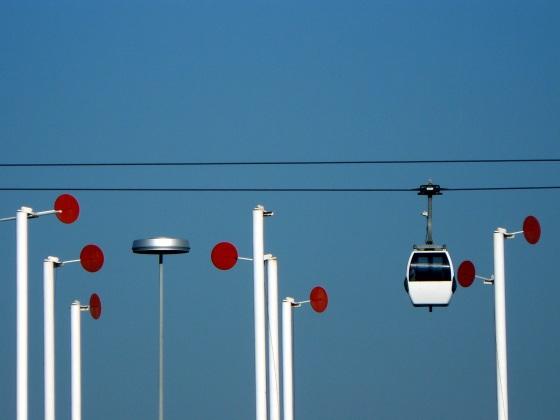 Lisbonne, quartier de l'exposition universelle