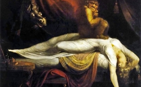 Le cauchemar (1781), Johann Heinrich Füssli