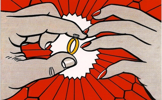 """The Ring"", Roy Lichtenstein, 1962"